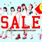 本日から、SPINNS SUMMER BARGAIN開催!!