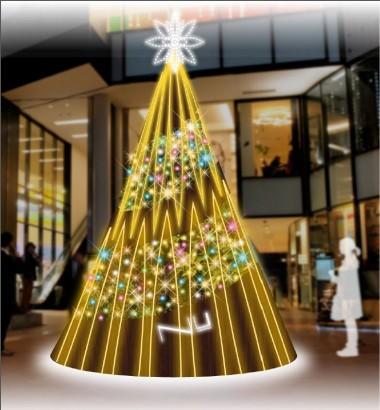 クリスマス画像(デパなび用)¥NU¥ツリー