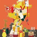 近鉄のクリスマスフェアは今年も「ムーミン」が主役!