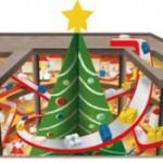 今年のクリスマスは巨大トリックアートでファンタジーの世界へ!