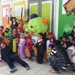 Happy Halloween ハロウィンパレード 子どもたちが小さなお化けになって、館内をパレード!