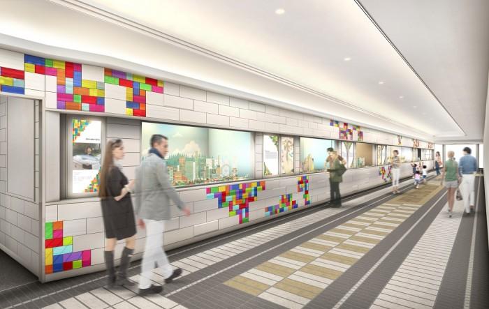 阪急三番街 北館1階 「HANKYU BRICK MUSEUM」のイメージ_dsg