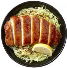 【明治亭】ソースかつ丼リサイズ