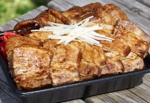 【豚丼たむら】こぼれ豚角煮弁当