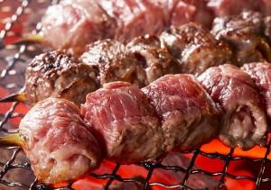 【トヨニシファーム】熟成厚切りステーキ串