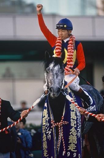 有馬記念・オグリキャップ1990 年撮影 須賀秀晴