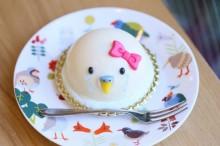 【小鳥ガーデン】ことりカフェケーキ オカメケーキ