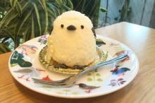 【小鳥ガーデン】ことりカフェケーキ シマエナガ