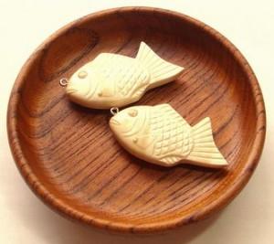 【いきもの展】工房木魚たい焼きのネックレス