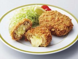 マルヒロ太田のチーズメンチカツ