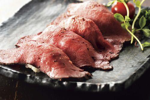 金獅子 肉寿司