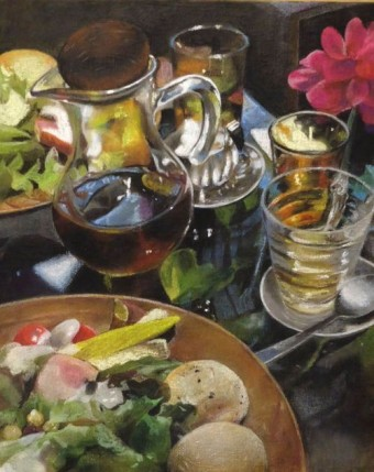 若菜由三香:「みどりの食卓」:パステル