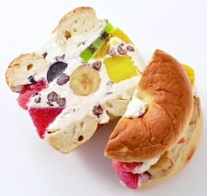 ⑨愛媛<ネイビーベーグル>白熊サンド