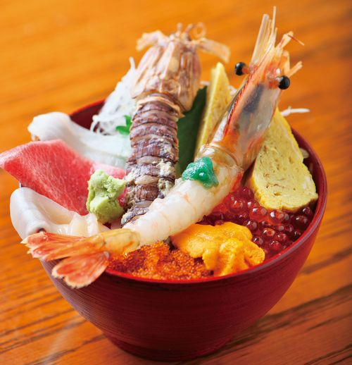巽鮨-特製どんぶり