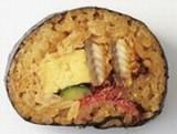 魚伊 2色巻き寿司 断面 - コピー