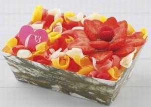 Cキューブ_ホワイトチョコレートといちごのティラミス