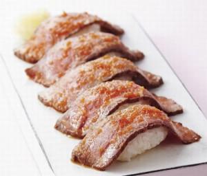 赤牛ローストビーフ寿司
