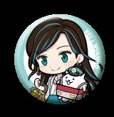 「太秦麗」の限定缶バッジ (1)