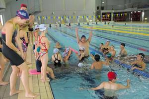 水泳クリニック