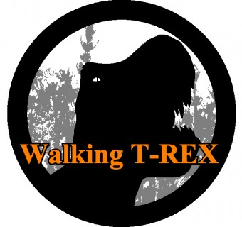 ロゴ(WalkingT-Rex)