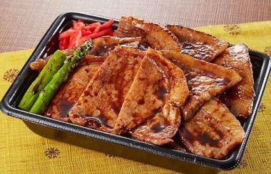 熟成十勝バラ&ロース豚弁当