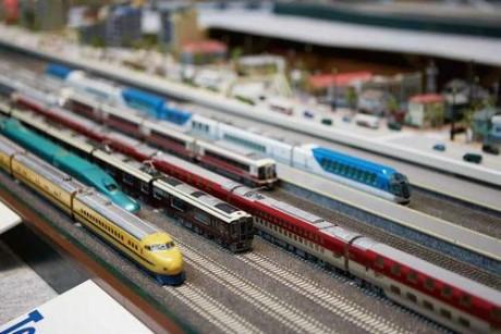 鉄道_ジオラマ