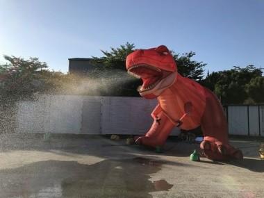 恐竜スプリンクラー