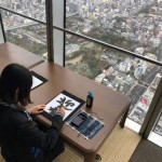 令和初のお正月に「ハルカス300(展望台)」で<br>書き初め体験などを実施!
