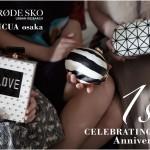 RODE SKO URBAN RESEARCHルクア大阪店、開業1周年を迎え、限定品発売決定!