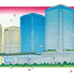 グランフロント大阪S&R 3周年フェアのビジュアルイメージが浮世絵に決定!