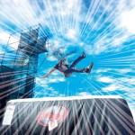 高さ6メートルから落下!新感覚アトラクションが、あべのキューズモールに出現!