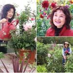 祝祭広場でひと足早く春の花に心ときめかせてケイ山田が作り出す春の花を楽しむファンタジーガーデン