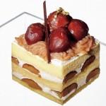 秋の味覚を堪能! 栗ゴロゴロのショートケーキ