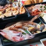 あべのハルカスのビアガーデンBeer300<br>味覚の秋に合わせて「海鮮バーベキューメニュー」が新登場!