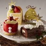 """本年は、クリスマスの混雑緩和対策として<br>""""カットケーキ販売の予約受注""""を初企画!"""